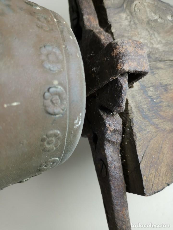 Antigüedades: ANTIGUA Y PRECIOSA CAMPANA FRANCESA SIGLO XIX--CONVENTO--CAPILLA---GRAN SONIDO - REF-MO - Foto 22 - 246551000