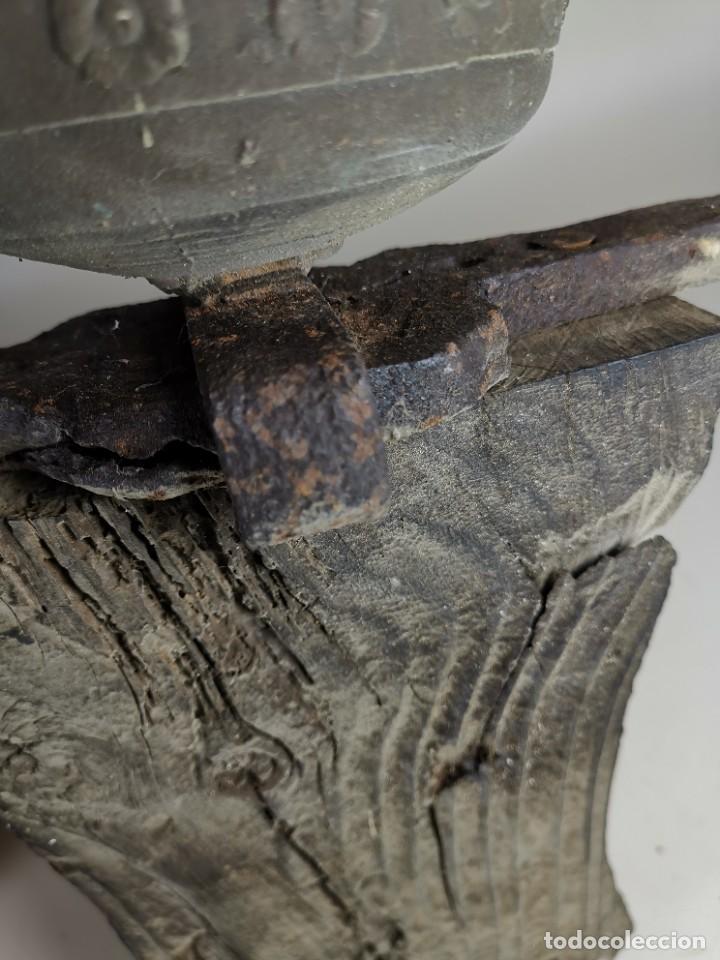 Antigüedades: ANTIGUA Y PRECIOSA CAMPANA FRANCESA SIGLO XIX--CONVENTO--CAPILLA---GRAN SONIDO - REF-MO - Foto 26 - 246551000