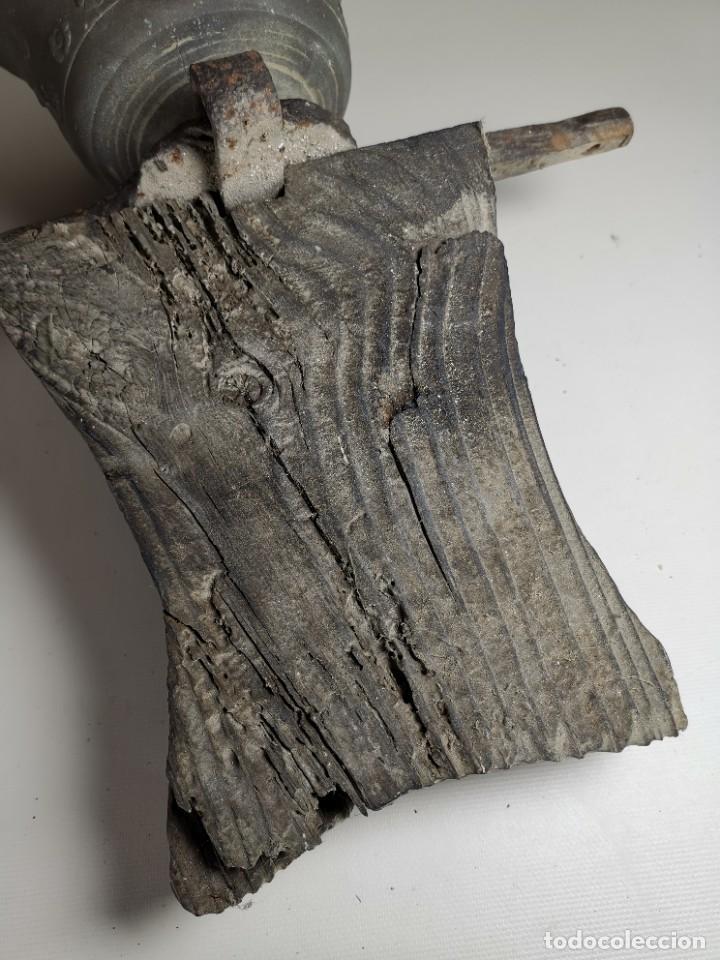 Antigüedades: ANTIGUA Y PRECIOSA CAMPANA FRANCESA SIGLO XIX--CONVENTO--CAPILLA---GRAN SONIDO - REF-MO - Foto 29 - 246551000