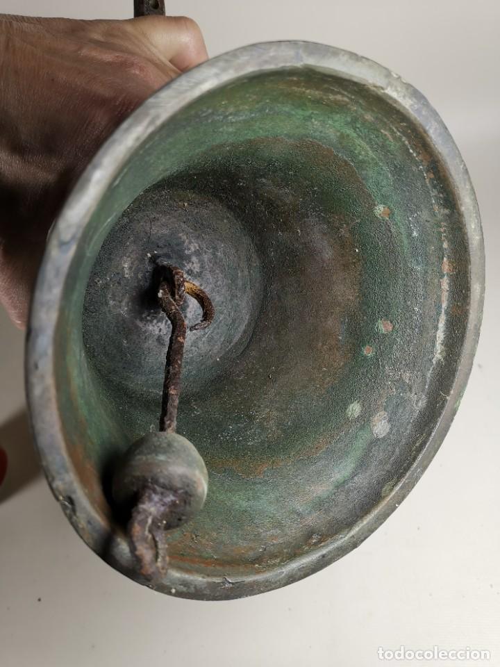 Antigüedades: ANTIGUA Y PRECIOSA CAMPANA FRANCESA SIGLO XIX--CONVENTO--CAPILLA---GRAN SONIDO - REF-MO - Foto 33 - 246551000