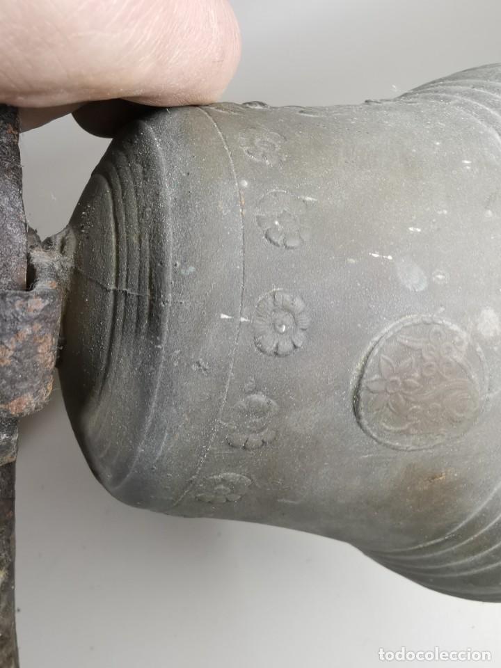 Antigüedades: ANTIGUA Y PRECIOSA CAMPANA FRANCESA SIGLO XIX--CONVENTO--CAPILLA---GRAN SONIDO - REF-MO - Foto 37 - 246551000