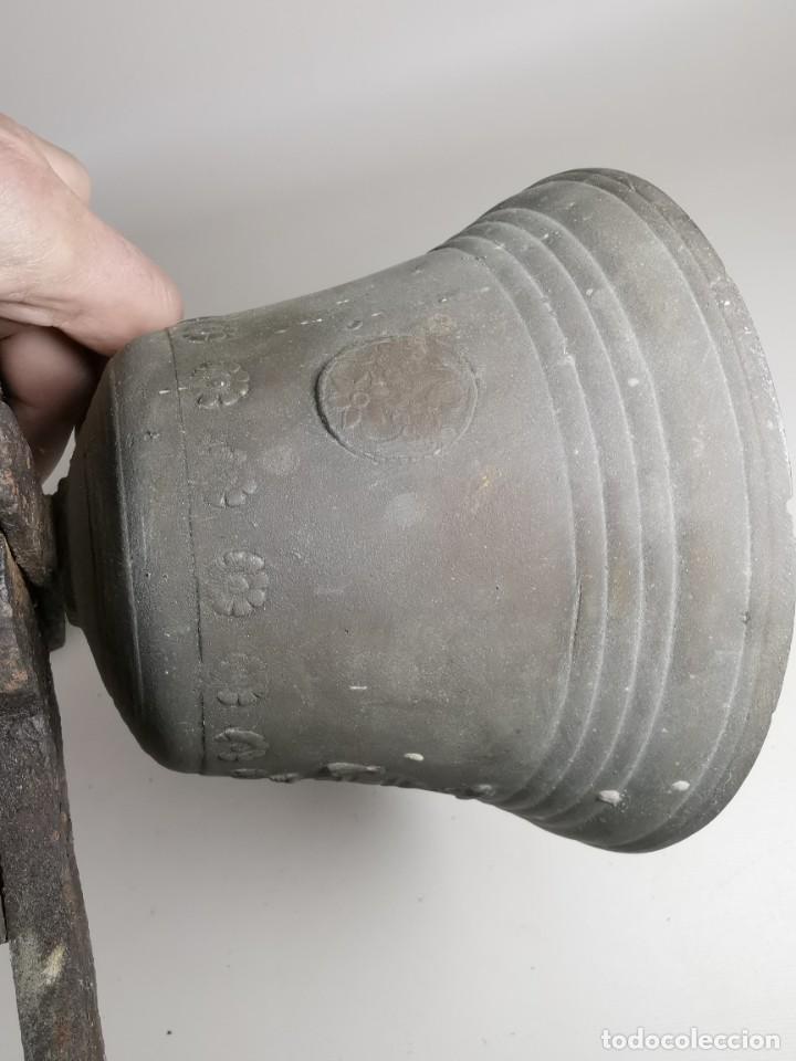 Antigüedades: ANTIGUA Y PRECIOSA CAMPANA FRANCESA SIGLO XIX--CONVENTO--CAPILLA---GRAN SONIDO - REF-MO - Foto 39 - 246551000