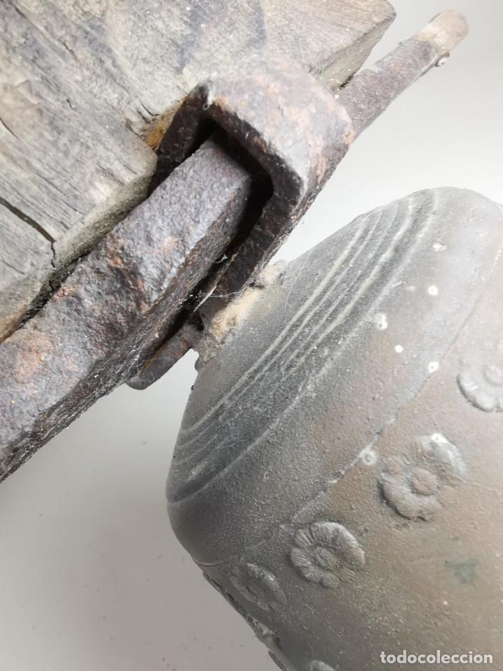 Antigüedades: ANTIGUA Y PRECIOSA CAMPANA FRANCESA SIGLO XIX--CONVENTO--CAPILLA---GRAN SONIDO - REF-MO - Foto 42 - 246551000