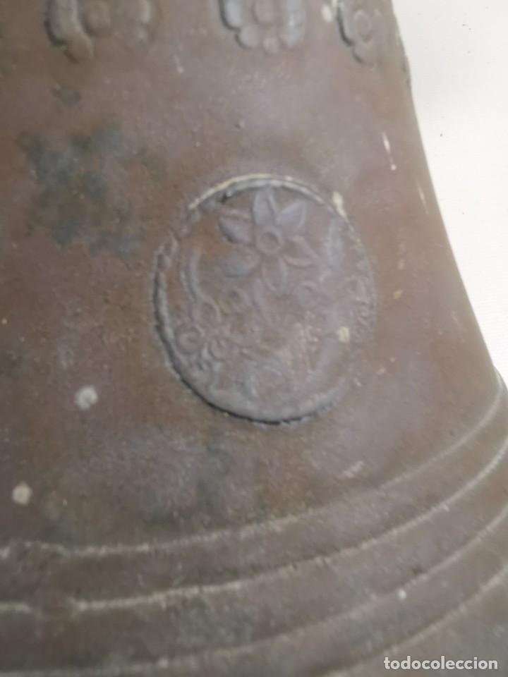 Antigüedades: ANTIGUA Y PRECIOSA CAMPANA FRANCESA SIGLO XIX--CONVENTO--CAPILLA---GRAN SONIDO - REF-MO - Foto 50 - 246551000