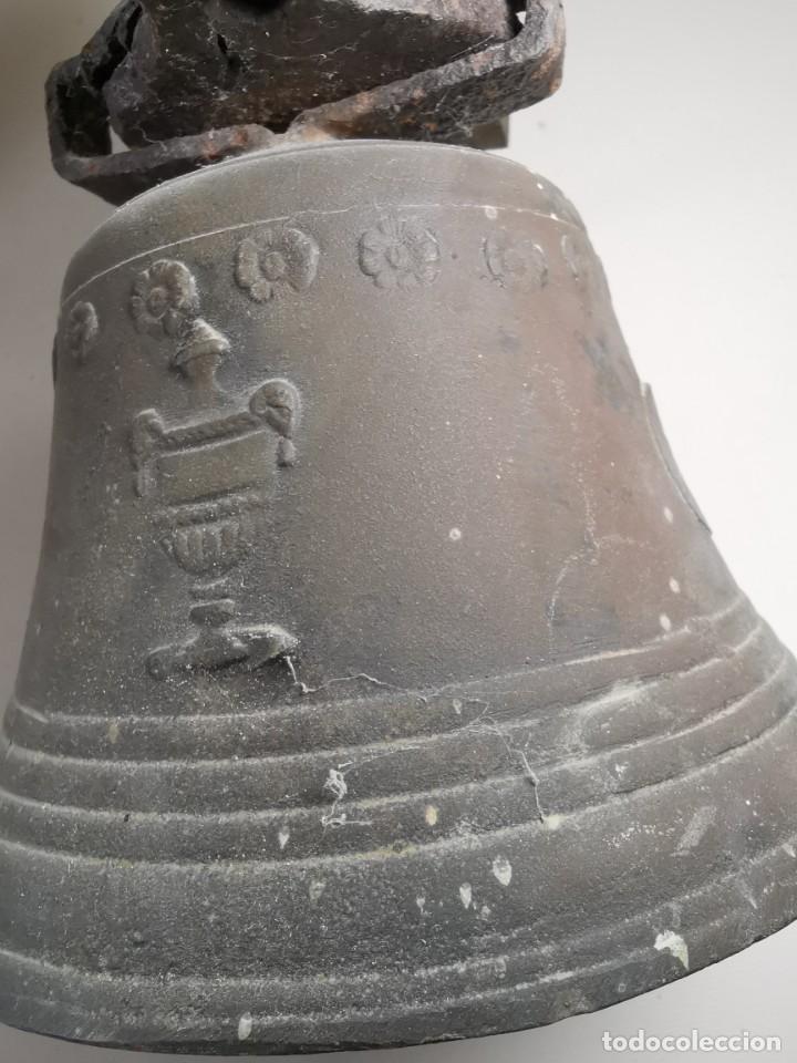 Antigüedades: ANTIGUA Y PRECIOSA CAMPANA FRANCESA SIGLO XIX--CONVENTO--CAPILLA---GRAN SONIDO - REF-MO - Foto 53 - 246551000