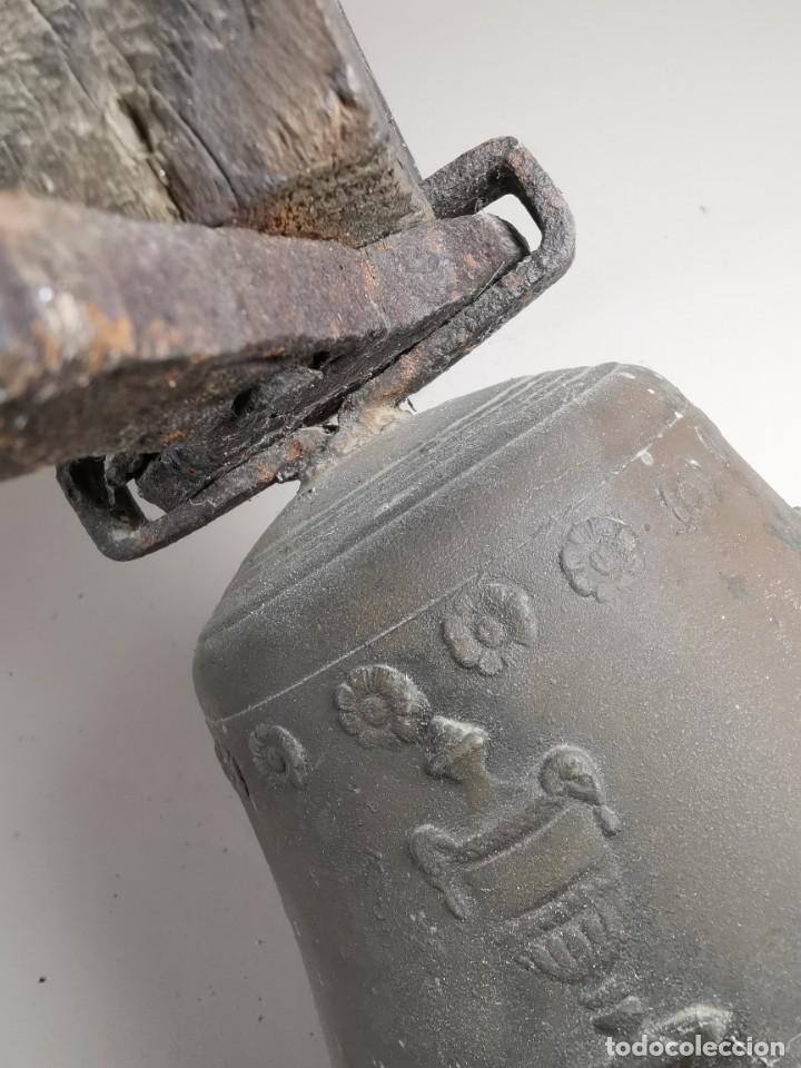 Antigüedades: ANTIGUA Y PRECIOSA CAMPANA FRANCESA SIGLO XIX--CONVENTO--CAPILLA---GRAN SONIDO - REF-MO - Foto 55 - 246551000