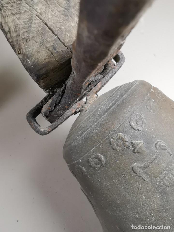 Antigüedades: ANTIGUA Y PRECIOSA CAMPANA FRANCESA SIGLO XIX--CONVENTO--CAPILLA---GRAN SONIDO - REF-MO - Foto 56 - 246551000