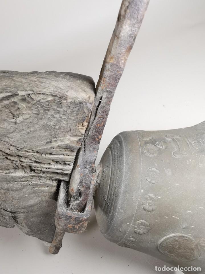Antigüedades: ANTIGUA Y PRECIOSA CAMPANA FRANCESA SIGLO XIX--CONVENTO--CAPILLA---GRAN SONIDO - REF-MO - Foto 57 - 246551000