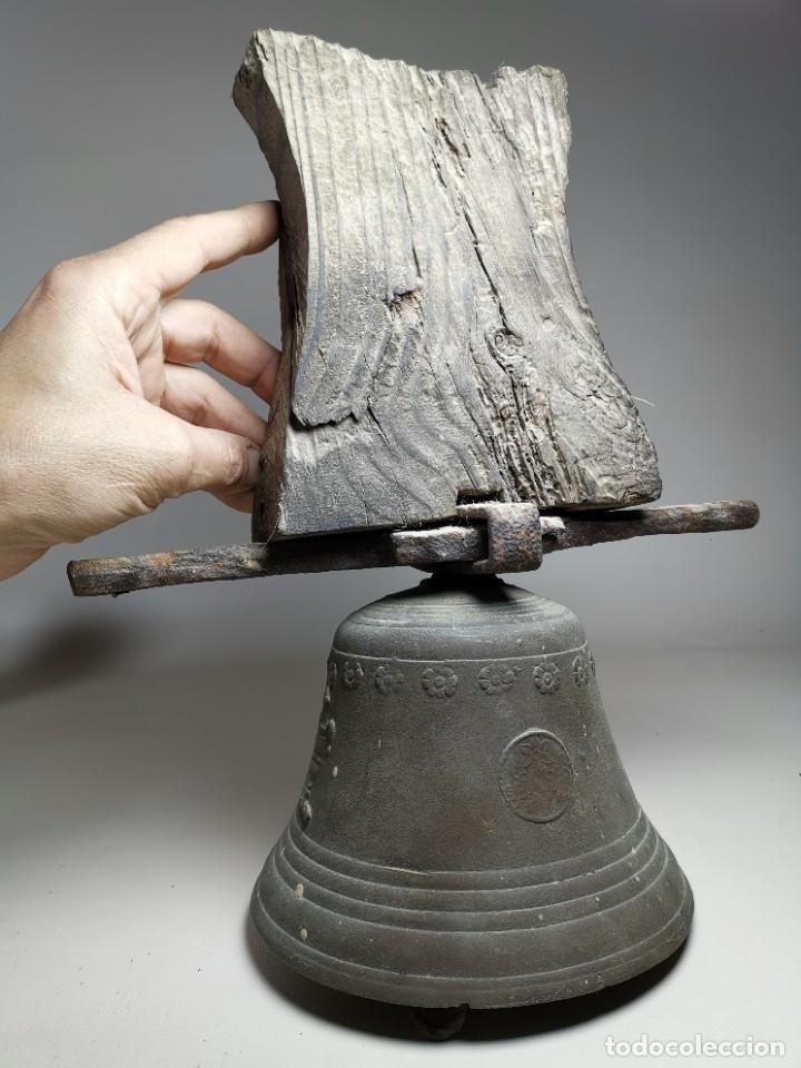 Antigüedades: ANTIGUA Y PRECIOSA CAMPANA FRANCESA SIGLO XIX--CONVENTO--CAPILLA---GRAN SONIDO - REF-MO - Foto 61 - 246551000