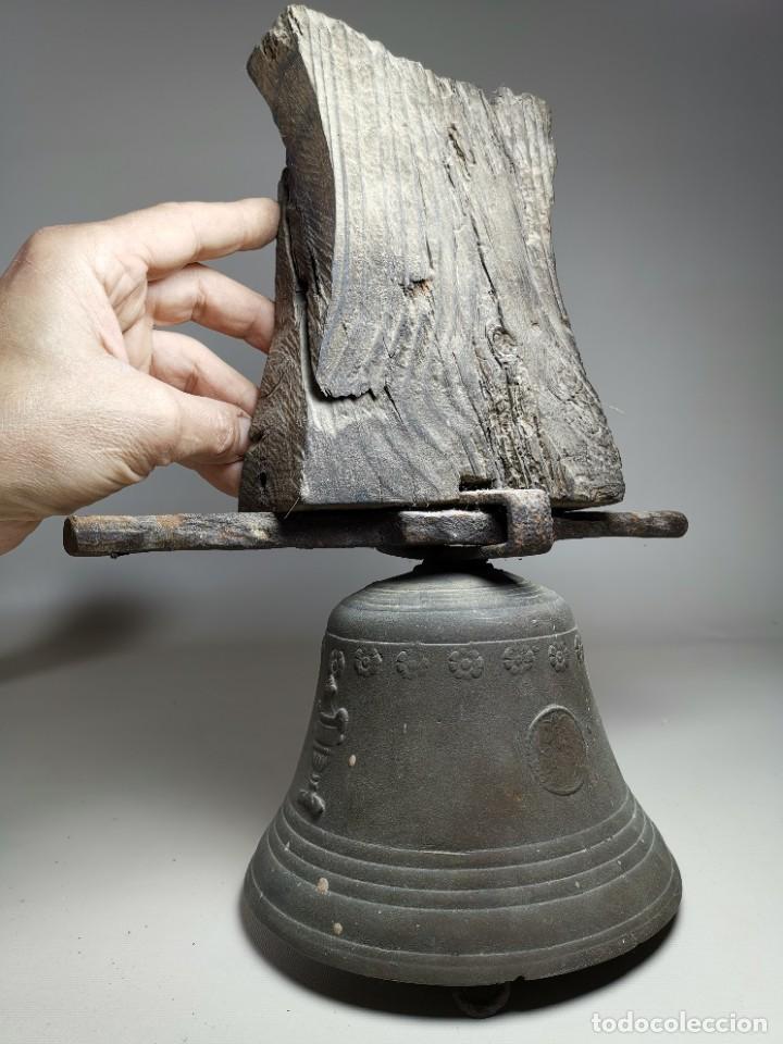 Antigüedades: ANTIGUA Y PRECIOSA CAMPANA FRANCESA SIGLO XIX--CONVENTO--CAPILLA---GRAN SONIDO - REF-MO - Foto 63 - 246551000