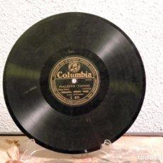 Oggetti Antichi: DISCO DE PIZARRA COLUMBIA GRAPHOPHONE COMPANY. Lote 246565425