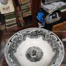 Antigüedades: GRAN PALANGANA DE CARTAGENA SIGLO XIX. Lote 246581740