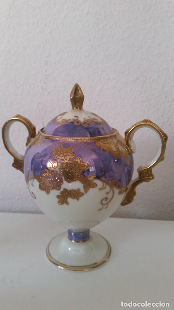 Antigüedades: PRECIOS Y MUY ELEGANTE TETE A TETE UN TU Y OY PORCELANA MODELO LUIS XV PORCELANA MAD CHINA - Foto 5 - 246614575