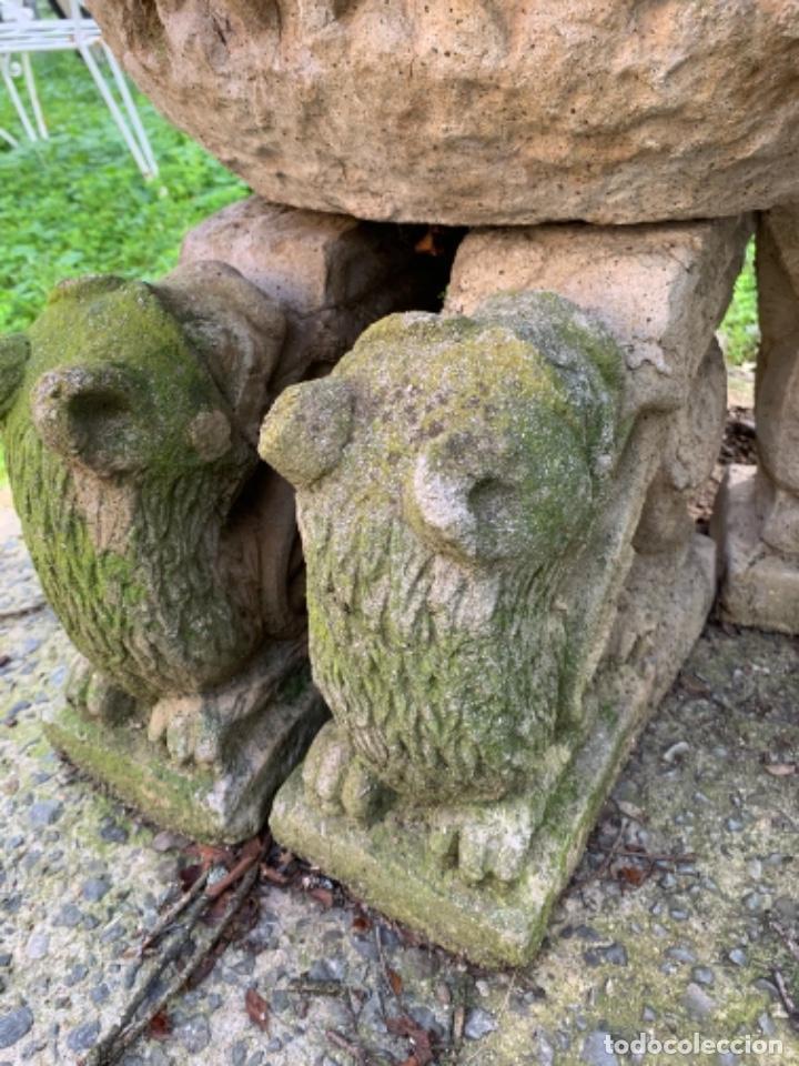 Antigüedades: Gran jardinera de cemento años 50 - Foto 6 - 246617295