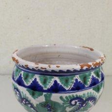 Antigüedades: MACETERO CERAMICA. Lote 246617965