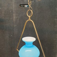 Antigüedades: LAMPARA DE TECHO. Lote 246680250