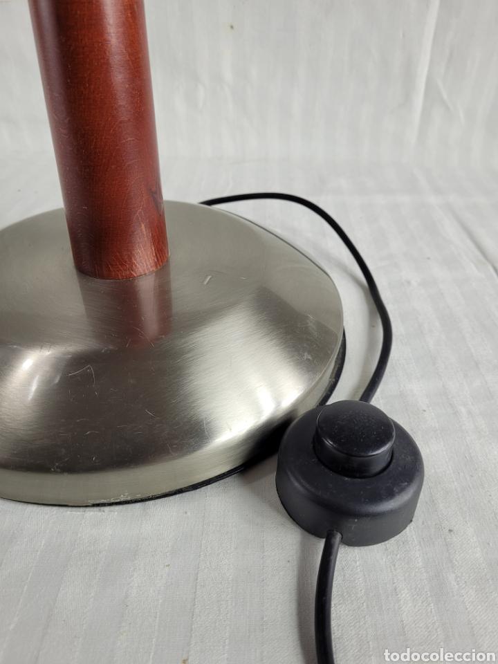 Antigüedades: Lampara de Pie diseño Madera Cerezo - Foto 2 - 246695850