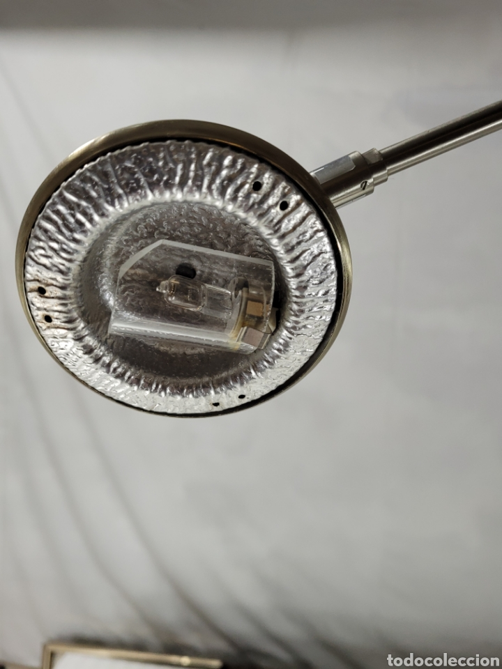 Antigüedades: Lampara de Pie diseño Madera Cerezo - Foto 3 - 246695850