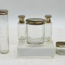 Antiquités: FRASCOS DE CRISTAL. Lote 246698135