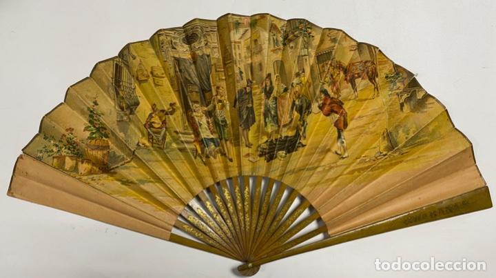 Antigüedades: ANTIGUO ABANICO. CUBA. HABANA. RECUERDO DE LA HABANA. VER FOTOS - Foto 2 - 246707515