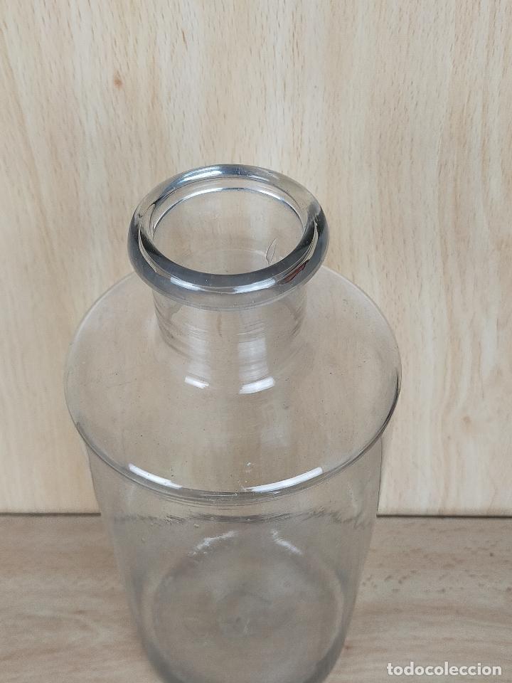 Antigüedades: botella botellita farmacia cristal - Foto 6 - 246748415