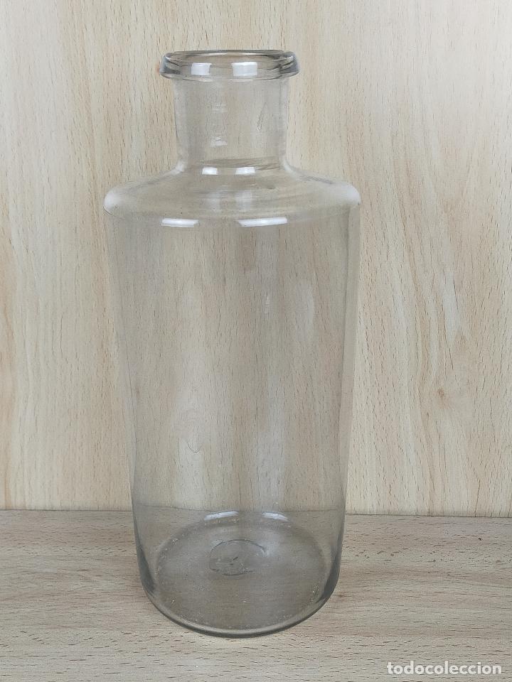 BOTELLA BOTELLITA FARMACIA CRISTAL (Antigüedades - Cristal y Vidrio - Farmacia )