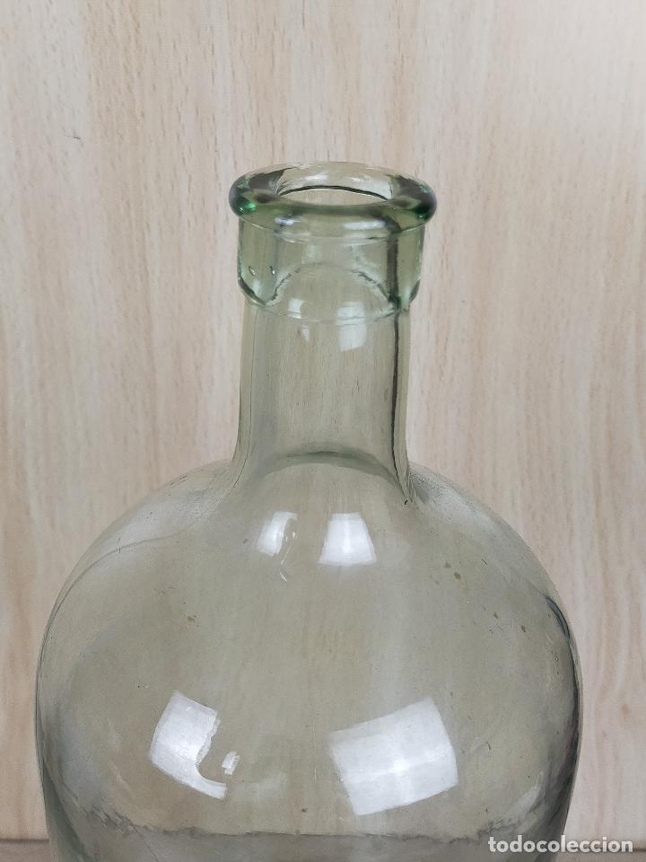 Antigüedades: botella botellita farmacia cristal - Foto 2 - 246748535