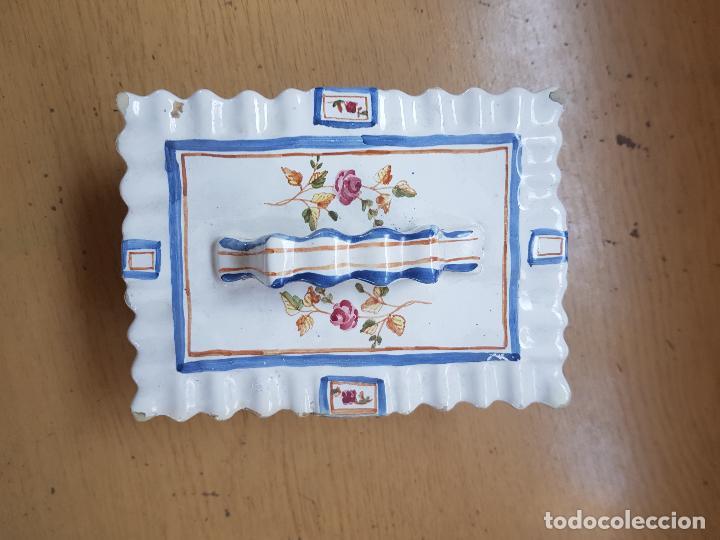 JOYERO CON MARCA (Antigüedades - Porcelanas y Cerámicas - Alcora)