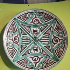Antiquités: ANTIGUO PLATO DOMINGO PUNTER TERUEL. Lote 246873340