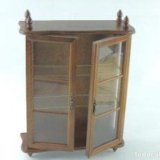 Antiquités: EXCELENTE EXPOSITOR VITRINA DE PARED IDEAL PARA EXPONER COLECCIONES. Lote 246911105