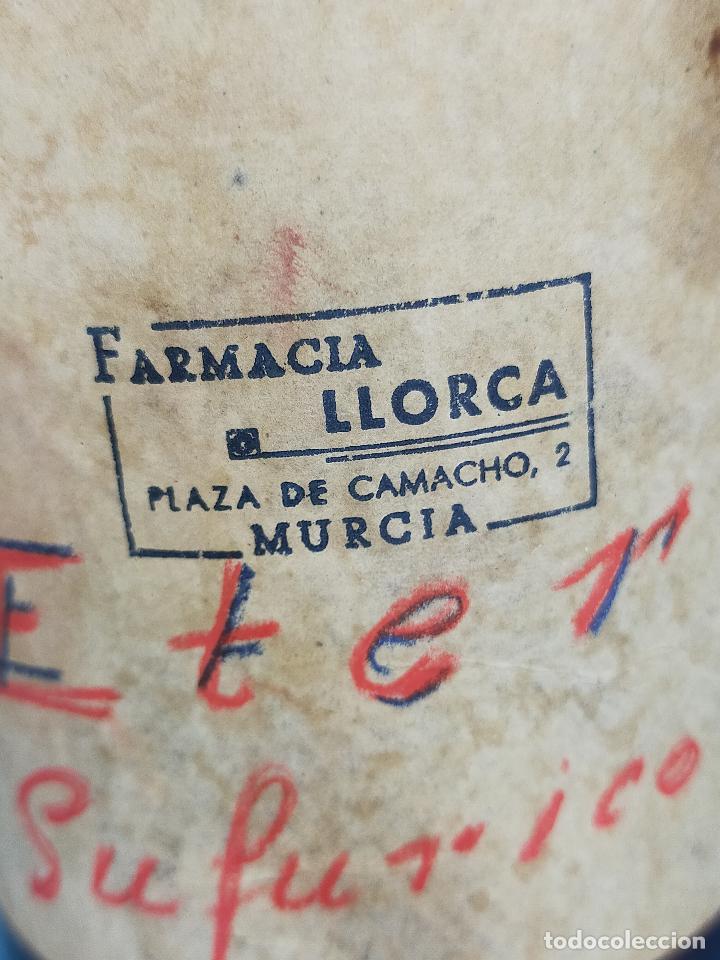 Antigüedades: EXTRACTO ESENCIA ETER CRISTAL FARMACIA - Foto 5 - 246939160