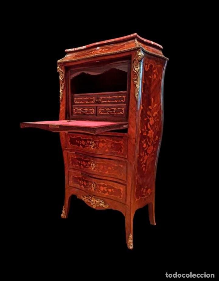 EXCELENTE SECRETAIRE FRANCES (Antigüedades - Muebles Antiguos - Escritorios Antiguos)