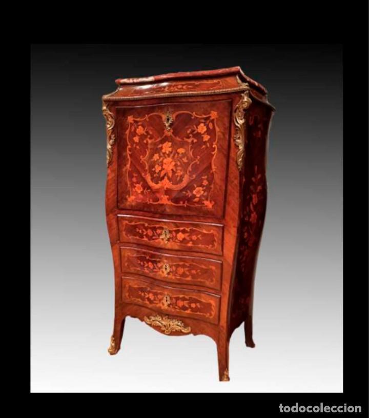 Antigüedades: Excelente secretaire frances - Foto 3 - 246973680