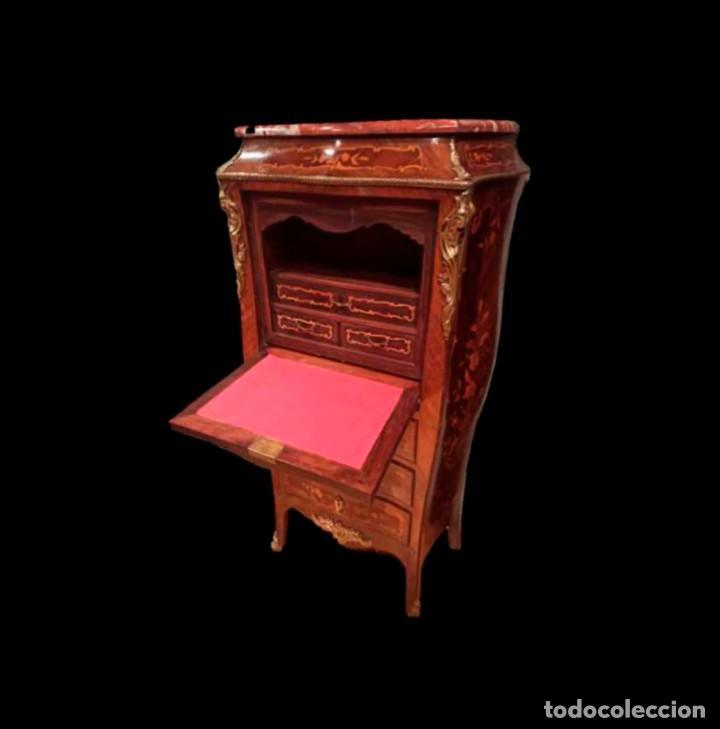 Antigüedades: Excelente secretaire frances - Foto 4 - 246973680