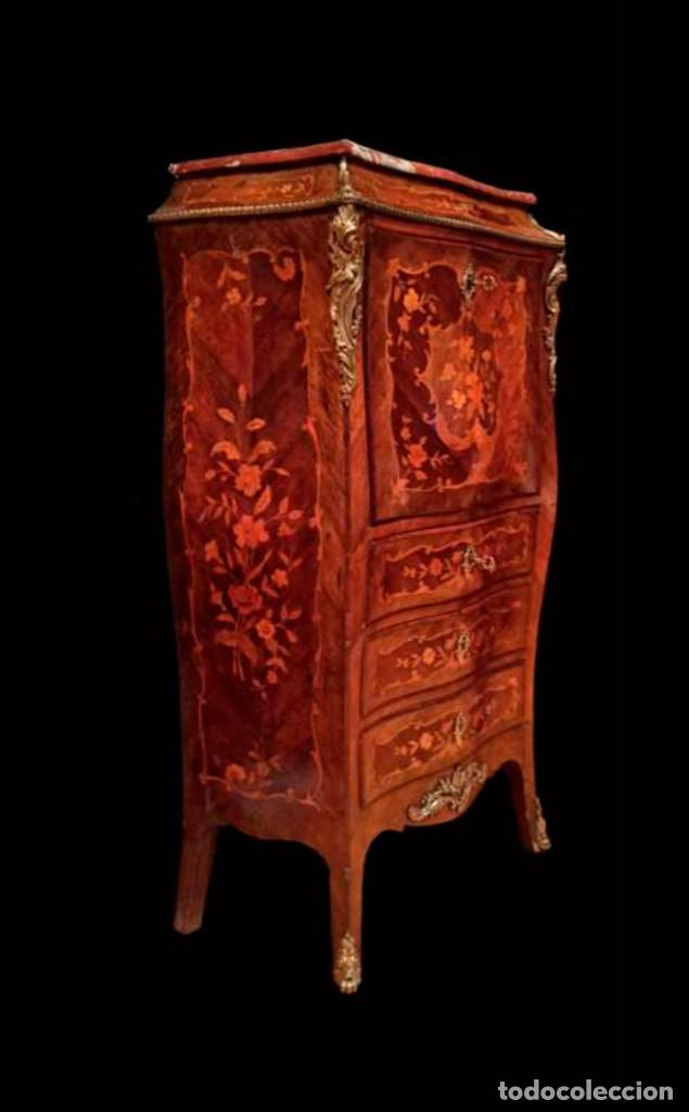 Antigüedades: Excelente secretaire frances - Foto 5 - 246973680