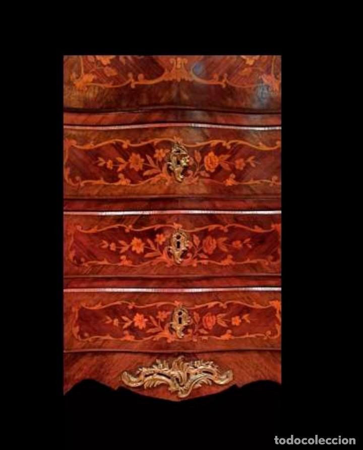 Antigüedades: Excelente secretaire frances - Foto 6 - 246973680
