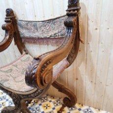 Antigüedades: JAMUGA ANTIGUA DE NOGAL. Lote 247018225