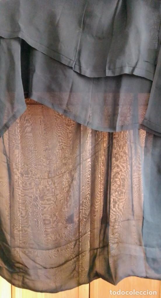 Antigüedades: Gran velo de luto muy antiguo - Foto 3 - 247023355