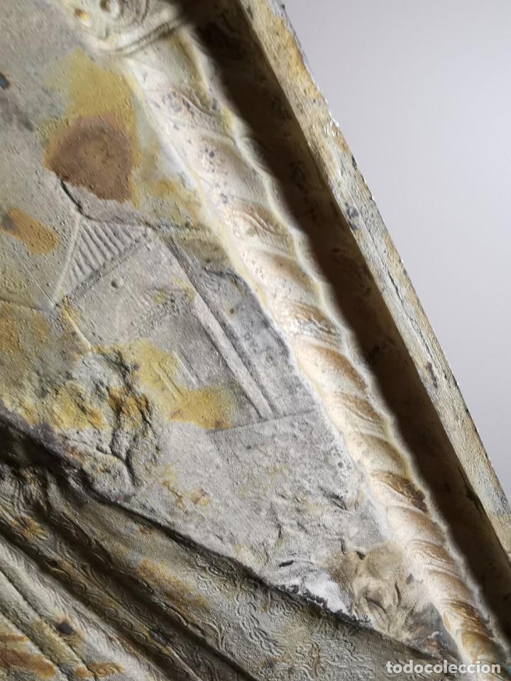 Antigüedades: CUADRO VIRGEN NUESTRA SEÑORA DEL CASTAÑAR-BEJAR -SALAMANCA-METAL CINCELADO Y REPUJADO.FIRMA MORERA. - Foto 39 - 247103550