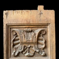 Antigüedades: ANTIGUA PIEZA DE RETABLO BARROCO, SIGLO XVII. MOTIVOS ARQUITECTÓNICOS. 38X28CM. Lote 247104350