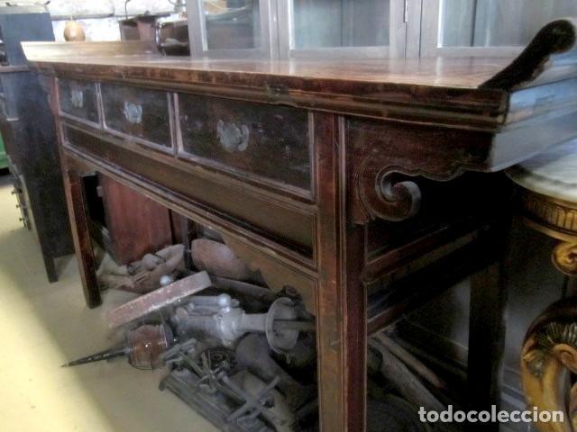 Antigüedades: Consola altar chino antiguo SXIX - Foto 2 - 247118480