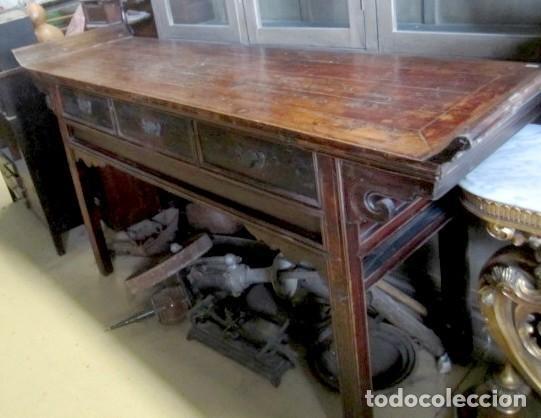 Antigüedades: Consola altar chino antiguo SXIX - Foto 5 - 247118480