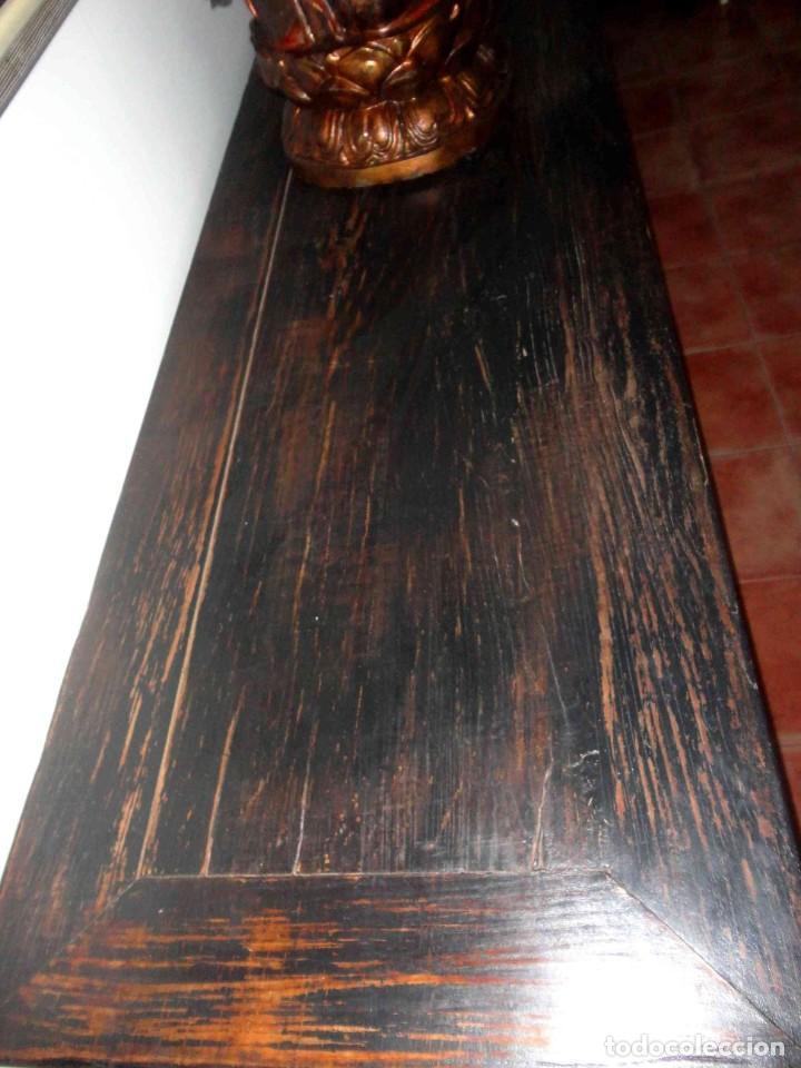 Antigüedades: Aparador chino antiguo de 4 puertas - Foto 5 - 247119030