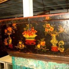 Antigüedades: ARCON CHINO ANTIGUO POLICROMADO. Lote 247120410