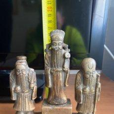 Antigüedades: MONJES CHINO PIEDRA DURA. Lote 247131295