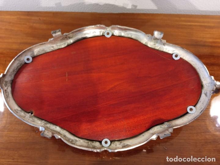 Antigüedades: Surtout de table Louis XVI y Jardinera. Metal plateado - Foto 13 - 247144195