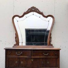 Antiquités: MUEBLE APARADOR CON ESPEJO. Lote 247151160