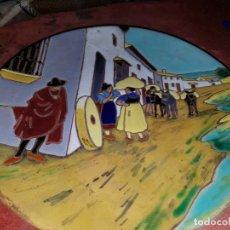Antigüedades: PLATO CERAMICA DE TRIANA. Lote 247165125
