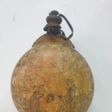Antigüedades: CANTIMPLORA DE MADERA. Lote 266830609
