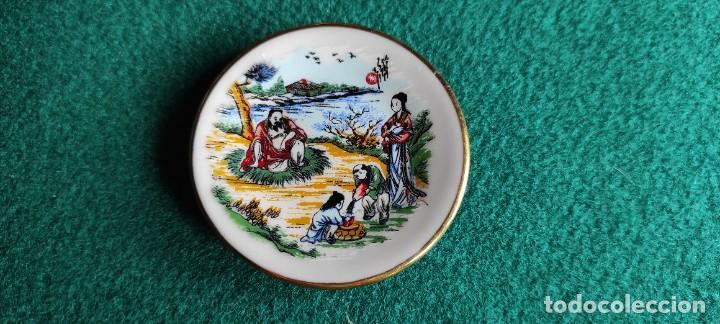 PLATITO DE PORCELANA CHINA (Antigüedades - Porcelanas y Cerámicas - China)
